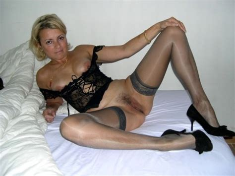 Milf S In Stockings Naughty Mature Milf In Stockings With Her Legs
