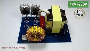 How To Make Inverter 12v To 220v From Atx Power Supply Pcb