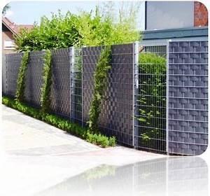Sichtschutzzaun Aus Kunststoff : sichtschutzzaun metall sichtschutzzaun aus metall und kunststoff sichtschutz ~ Watch28wear.com Haus und Dekorationen