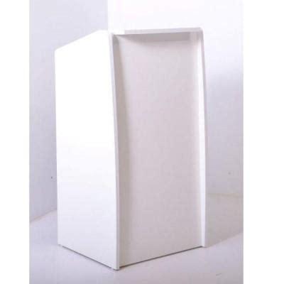 Comptoir Livre by Comptoir Accueil Ecoline Blanc H 110cm Livr 233 Sans Tiroir
