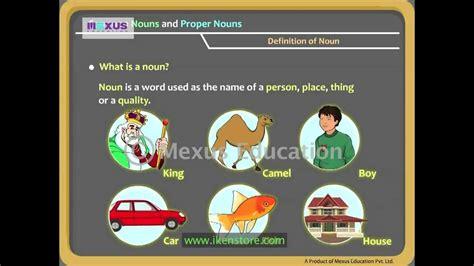 Common Nouns And Proper Nouns