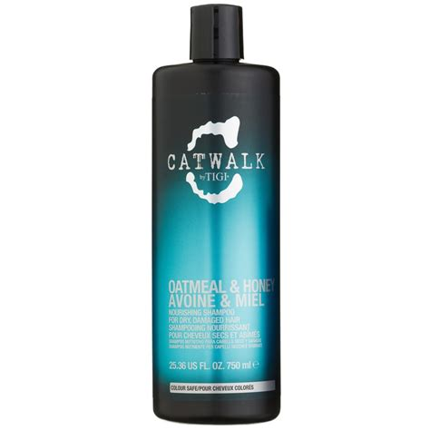 tigi catwalk oatmeal honey shampoo ml hair care bm