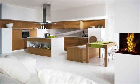 cuisine et d駱endances cuisine ouverte sur le salon pratique et conviviale travaux com