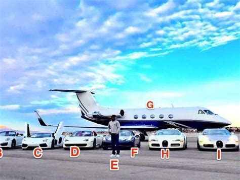 Floyd Mayweather's  Million Exotic Car Collection