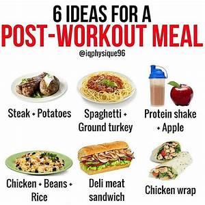 Post Workout Meals  U2014 Steemkr