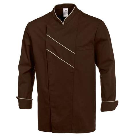 veste cuisine couleur veste de cuisine grand chef chocolat taille 44