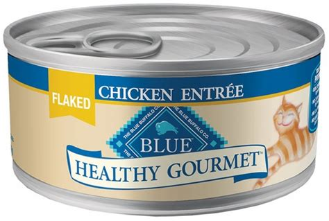blue buffalo healthy gourmet flaked chicken canned cat