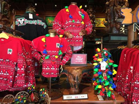 disney world christmas merchandise wdw vacation tips