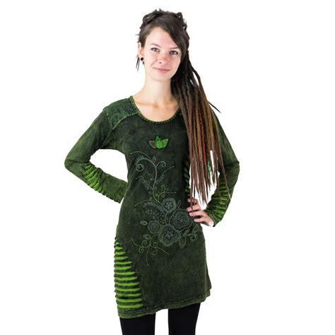 dress gavya hijau
