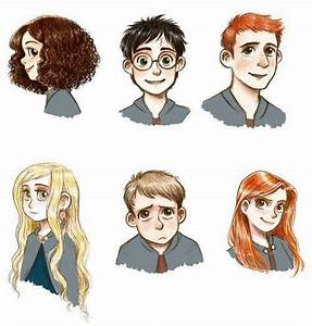 harry potter characters art | Harry Potter | Pinterest ...