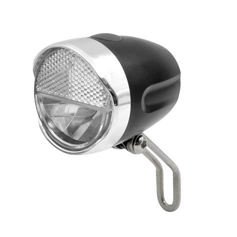 fahrrad led le fahrrad frontlicht dynamobetrieb inkl anschlusskabel mit reflektor stvzo zugelassen kabika de