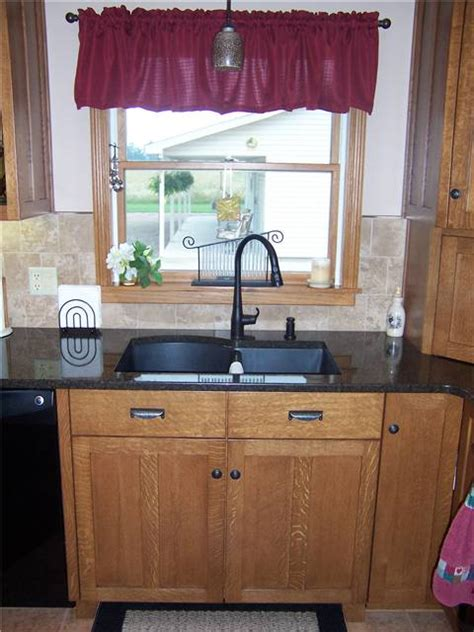 farmhouse kitchen sinks countertop styles materials ds woods custom cabinets 3708