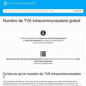 Transavia Numero Gratuit : retrouvez gratuitement le num ro de tva intracommunautaire d 39 une soci t ~ Gottalentnigeria.com Avis de Voitures