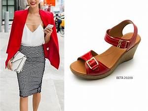 ¿Cómo combinar tus zapatos color rojo? Blog Flexi
