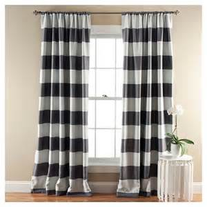 stripe curtain panels room darkening set of 2 target