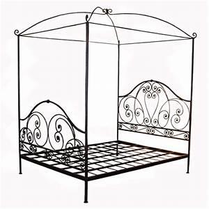Lit Fer Forgé 1 Personne : lit en fer forge 1 place maison design ~ Voncanada.com Idées de Décoration