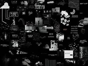 grunge black aesthetic horizontal wallpapers wallpaper cave
