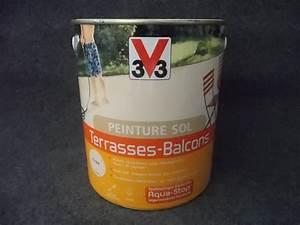 Peinture Balcon Sol : peinture sol terrasse peinture sol terrasse exterieur ~ Premium-room.com Idées de Décoration