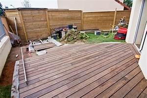 methode pour bien construire une terrasse en bois With construire sa terrasse bois