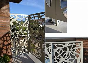 Brise Vue En Aluminium : brise vue terrasse palissadesign brise vue de terrasse ~ Edinachiropracticcenter.com Idées de Décoration