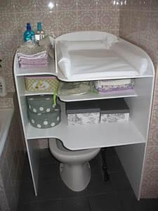Table A Langer Pour Salle De Bain : la super table langer faite par le futur papa miss orchid e ~ Teatrodelosmanantiales.com Idées de Décoration