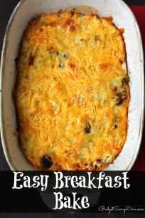 breakfast bake recipe easy breakfast bake recipe