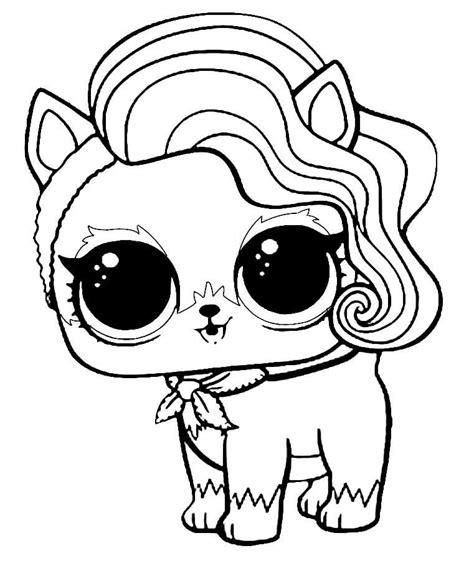 Lol Pets Kleurplaat by Lol Pets Coloring Pages Sur Fur Printables