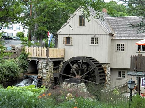 Plymouth Grist Mill Photograph By Georgia Hamlin
