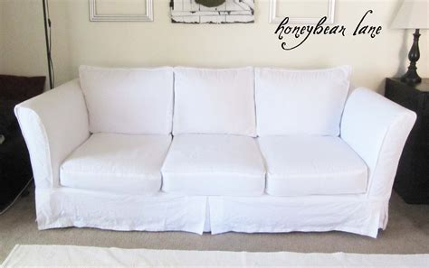 how to make slipcovers for sofa how to make a slipcover part 2 slipcover reveal