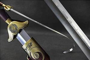 Chinese Eight Diagram Tai Chi Sword Stainless Steel Blade