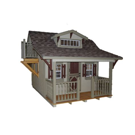 playhouse with kitchen craftsman playhouse wayfair 1551