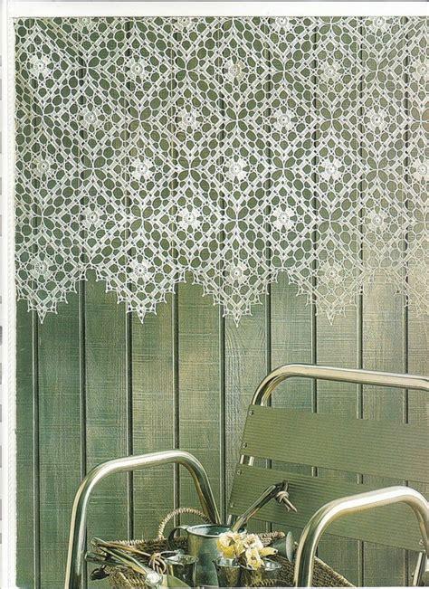 image modele rideaux au crochet facile