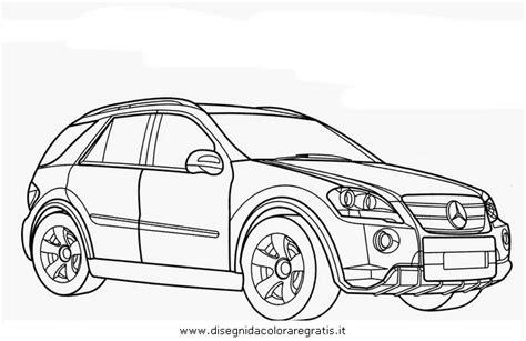 disegno mercedesml categoria mezzitrasporto da colorare
