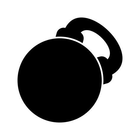 kettlebell vector icon clipart vectors graphics system clipground