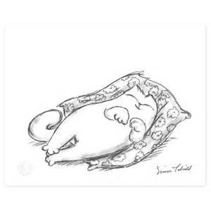 simon s cat simon s cat shop simon s cat snoozing limited edition