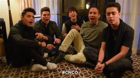 CNCO - The Lion Sleeps Tonight - The Tokens - YouTube