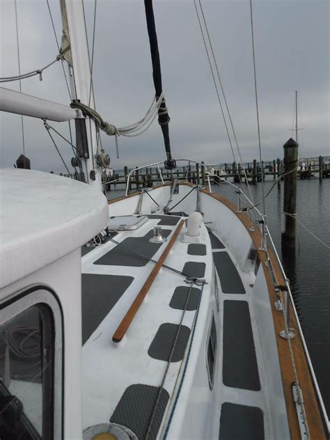 The fisher 37 is the epitome of the large, powerful motorsailer. 1976 Used Fairways Marine Fisher 37 Motor Sailor ...