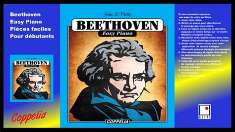 partitions beethoven easy piano pour debutants video