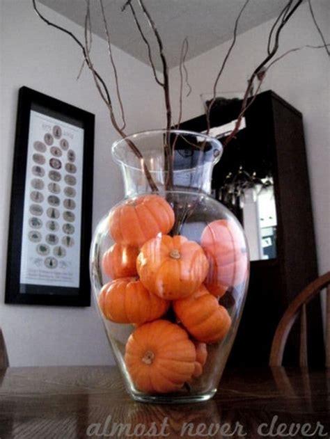 diy ways  decorate  home  pumpkins  fall