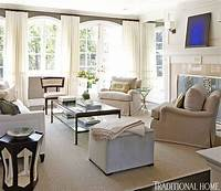 neutral living room Elegant Living Rooms in Neutral Colors | Traditional Home