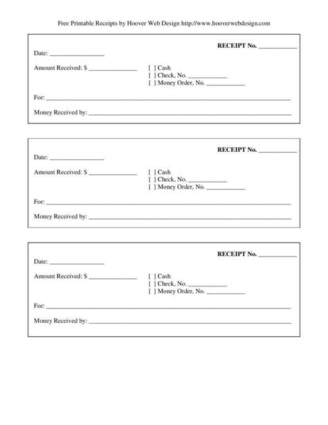 how to differentiate receipts from invoice free premium templates