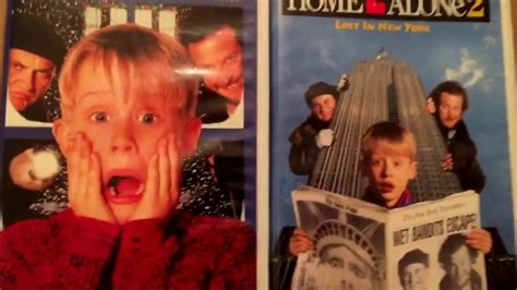Home Alone & Home Alone 2 Lost In New York 1997 Vhs Youtube