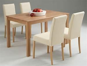 Esstisch Stühle Beige : tischgruppe essgruppe buche esstisch 125x80cm 4 st hle beige emilian ivett ebay ~ Markanthonyermac.com Haus und Dekorationen