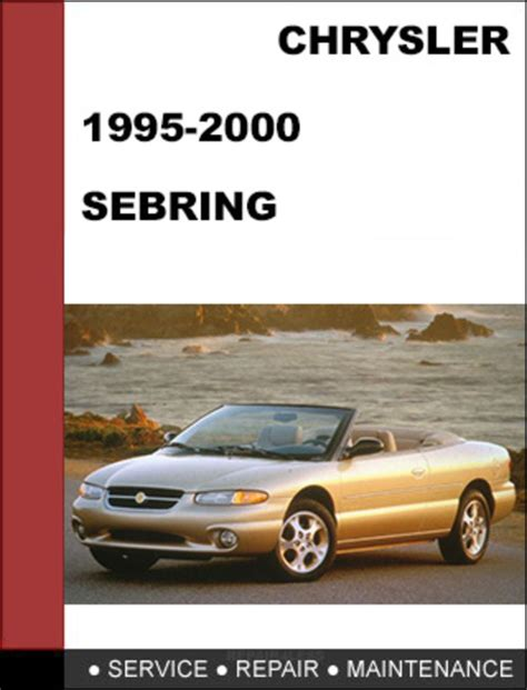 car repair manuals online free 1996 chrysler sebring lane departure warning free download of 2000 chrysler sebring owners manual 2004 chrysler sebring dodge stratus
