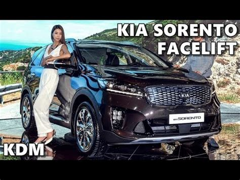 kia sorento facelift kdm youtube