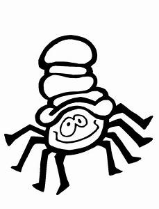 Itsy Bitsy Spider Coloring Page | Purple Kitty