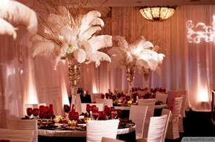 ostrich feather fans 10 great gatsby themed party ideas in exquisite vintage