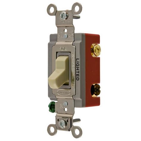 Hubbell Wiring Hblil Illuminated Two Position Way