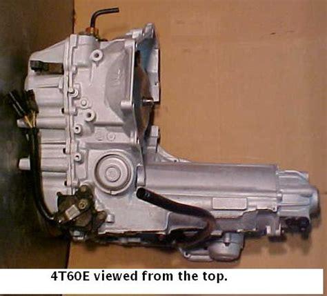 4t60e Diagram Bolt by Gm 4t60e Transmission