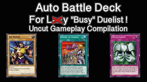 yugioh duel links best deck auto duel beatdown deck get link